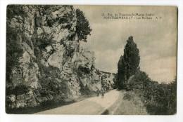 Ref 194 - FONTGOMBAULT - Les Rochers (environs De Tournon-Saint-Martin ) - Altri Comuni