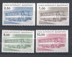 Finlande 1981 Colis Par Autobus N°14/17 Neufs**