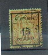 GUAD 396 - YT 4 Obli - Guadeloupe (1884-1947)