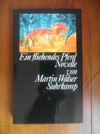 "Ein Fliehendes Pferd  ""Novelle""  (Martin Walser) De 1979 - Livres, BD, Revues"