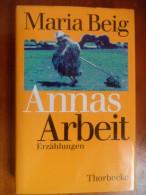 """Annas Arbeit """"Erzählungen""""  (Maria Beig) De 2000 - Livres, BD, Revues"""