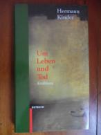 """Um Leben Und Tod  """"Erzählungen""""  (Hermann Kinder) De 1997 - Livres, BD, Revues"""