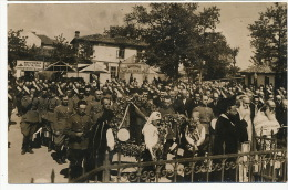 Real Photo WWI Guerre 1914 Red Cross Mass - Serbie