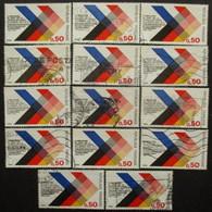 FRANCE N°1739 X 10 Oblitéré - Timbres