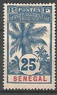 SENEGAL PALMIERS   N� 37 NEUF* B