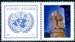 ONU Vienne 2013 - Détaché De Feuille De Timbres Perso - Bourse Du Timbre à Sindelfingen ** - Unused Stamps