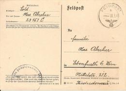1943 - RUSSLAND / Ebenfurt B.Wien, 2 Scan - 1941-43 Occupation: Germany