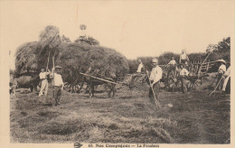 Old Postcard Nos Campagnes La Fenaison - Farms