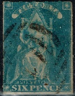 Victoria - 1856 - Y&T N° 14, Oblitéré - Oblitérés