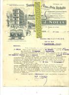 66 - Pyrennées-orientales - PERPIGNAN - Facture NOELL - Transport Des Vins – 1912 - REF 84 - France
