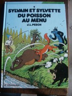 SYLVAIN ET SYLVETTE N°9 DU POISSON AU MENU   PESCH   DARGAUD - Sylvain Et Sylvette