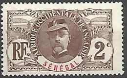 SENEGAL TYPE GENERAL F N�  31 NEUF* TB