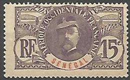 SENEGAL TYPE GENERAL F N�  35 NEUF* TB