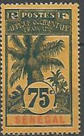 SENEGAL TYPE PALMIERS N�  43(*) NEUF TB