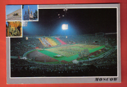 FODI-16 Moscow Moscou Luzhniki Sport Bolshoi Theatre Of USSR. Pozharskij Red Square Novodevichy Football Stadion. Used - Russia