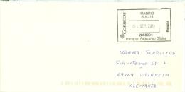Spanien Madrid 2014 Port Paid - Stempel - Poststempel - Freistempel