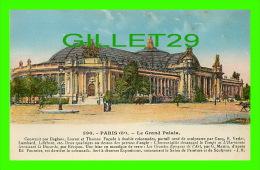 PARIS (75) - LE GRAND PALAIS - ANIMÉE - DOS VERT - L. BOISSON, ÉDITEUR - - Other Monuments