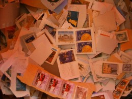 LUXEMBOURG Kiloware 100g Many Commemoratives / Recent Mixture - Timbres
