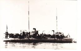vieille photo batiment militaire francais Hallebarde torpilleur