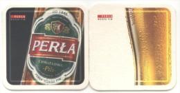 Polska. Poland. Pologne. Polen. Perla. Wsrod Piw. Od 1846. Chmielowa. Pils. - Beer Mats