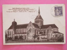 SAINT BENOIT SUR LOIRE - Eglise De L'ancienne Abbaye - Francia