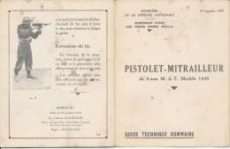 Petit guide technique de poche MAT 49 dat� de novembre 1949 Indochine Alg�rie