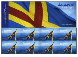 Aland - 2004 - Nuovo/new - Bandiera - Libretto/Booklet - Mi MH 10 - Aland