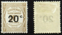 N° TAXE 49 - Neuf N* Cote 40 € TB - 1859-1955 Mint/hinged