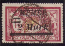 Germania - Memel - 1920 - Usato/used - Serie Ordinaria - Mi N. 28 - Abstimmungsgebiete