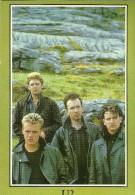 ARTISTE ARTISTES MUSICIENS GROUPE U2  REF SP 30 EDITIONS SPIRAL ROCK - Artistes