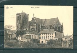 LIEGE: Eglise St Martin, Gelopen Postkaart 1914 (GA16539) - Liege