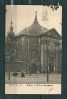 LIEGE: Eglise Ste Anne, Gelopen Postkaart 1909 (GA16540) - Liege