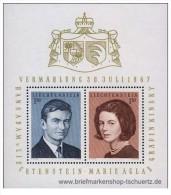 Liechtenstein - 1967 - Nuovo/new - Famiglia Reale - Mi Block 7 - Liechtenstein
