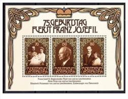 Liechtenstein - 1981 - Nuovo/new - Famiglia Reale - Mi Block 11 - Liechtenstein