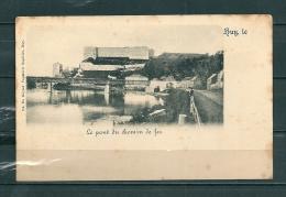 HUY: Le Pont Du Chemin De Fer, Niet Gelopen Postkaart (GA16678) - Belgique