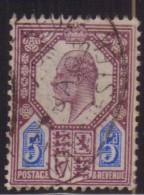 Regno Unito - 1902 - Usato/used - Edward VII - Mi N. 110A - 1902-1951 (Re)