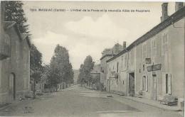 15 - MASSIAC - L´Hôtel De La Poste Et La Nouvelle Allée Des Peupliers - France