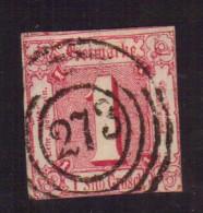 Thurn Und Taxis - 1863 - Usato/used - Mi N. 29 - Thurn Und Taxis