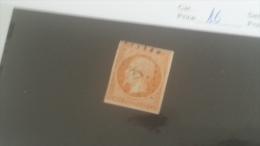 LOT 222742 TIMBRE DE FRANCE OBLITERE N�16 VALEUR 20 EUROS