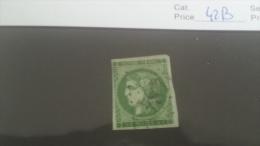 LOT 222757 TIMBRE DE FRANCE OBLITERE N�42B VALEUR 300 EUROS