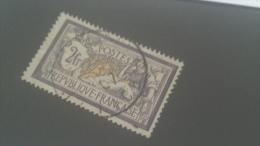 LOT 222787 TIMBRE DE FRANCE OBLITERE N�122 VALEUR 90 EUROS