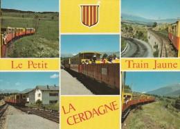 LA CERDAGNE LE PETIT TRAIN JAUNE - France