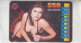 MEXICO - Girl, SEXXXLINE by MST prepaid card $50, mint