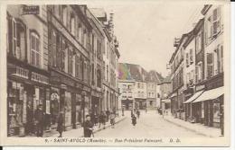 Saint Avolld   Rue Poincaré - Saint-Avold