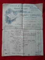 St HIPPOLYTE DU FORT AGENCE PEUGEOT CABANE Armand MECANICIEN - Petits Métiers