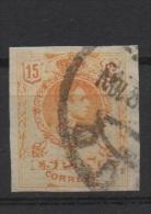 15c. Amarillo ; Edifil No.271 SIN DENTAR Usado ; Michel Nr.247, Ungezähnt - Usados