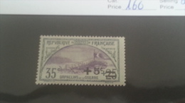 LOT 222821 TIMBRE DE FRANCE NEUF* N�166 VALEUR 16,5 EUROS