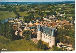 JALIGNY-sur-BESBRE (Allier)  Vue Générale Aérienne Et Le Chateau - Other Municipalities