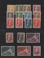 Serie Completa Quinta De Goya ; Edifil No.499 - 516 ; Michel Nr.464 - 481 , No Usado - Nuevos