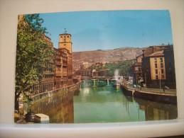 CPM - ESPANA - BILBAO RIA DEL NERVION Y PUENTE DE LA VICTORIA/ ESPAGNE ESTUAIRE DU NERVION ET PONT DE LA VICTOIRE - Vizcaya (Bilbao)